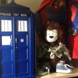 ook!  I've tried blue police boxes, and having guys in red capes fly around the earth really fast, I'm even working on a Lego DeLorean- but the secrets of time travel still escape me.